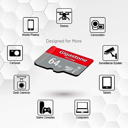 Gigastone 64gb Mirco Sd Speicherkarte 5er Pack Kamera Computer Zubehör