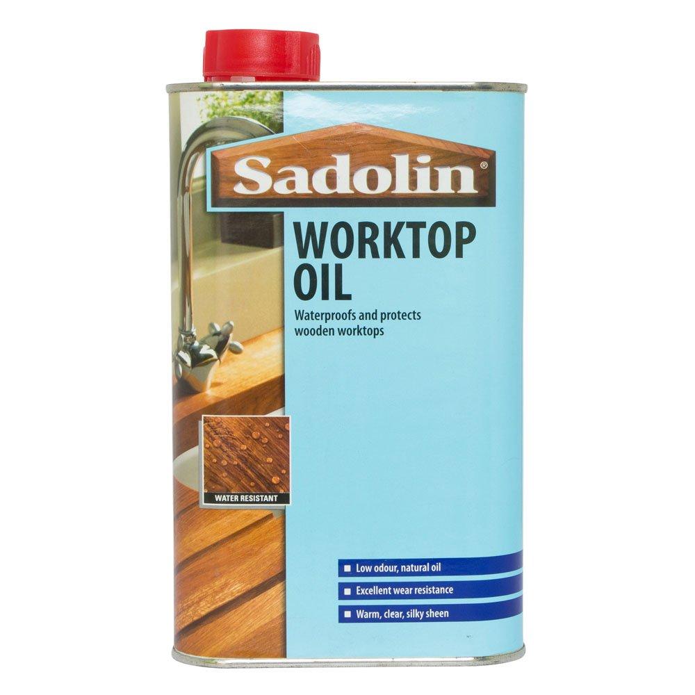 Sadolin Worktop Oil Clear 1L: Amazon.co.uk: DIY & Tools