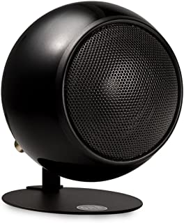 product image for Orb Audio Mod1 Stereo and TV Speaker, Single Speaker, Includes Mod2 Upgrade Hardware - Metallic Black Gloss