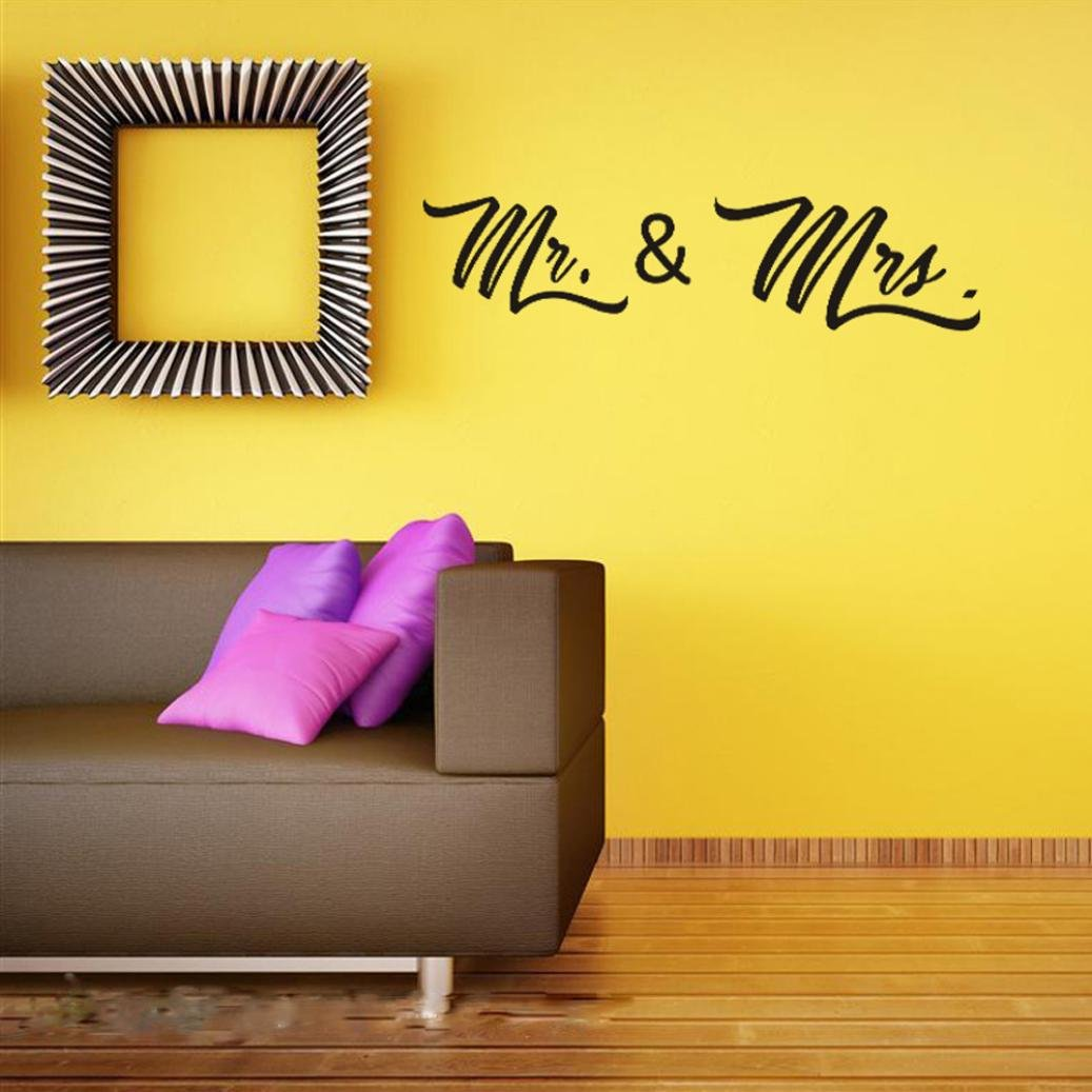 DIY Wall Art Decal,HP95(TM) Removable Vinyl Valentine's Home Mural Living Room Decor Wall Sticker
