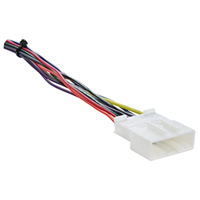 Metra 70-7552 Radio Wiring Harness For Nissan 2007-Up/Select Subaru 2008-Up: Car Electronics