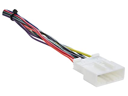 Pleasing Amazon Com Metra 70 7552 Radio Wiring Harness For Nissan 2007 Up Wiring Database Gramgelartorg