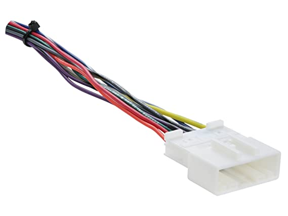 metra 70 7552 radio wiring harness for nissan 07 up amazon ca cell rh amazon ca nissan stereo wiring harness adapter