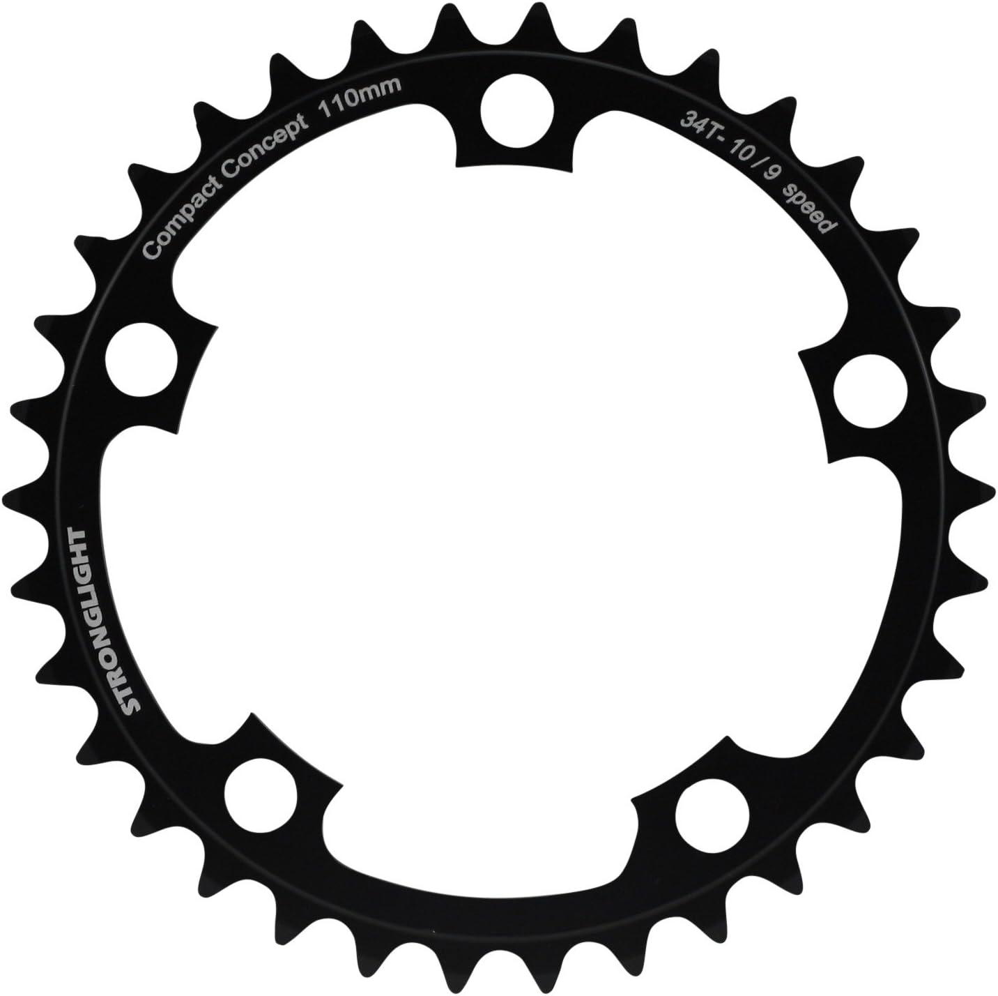 Stronglight - Plato para cadena de bicicleta de aluminio, rueda ...