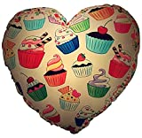 Wow! Works Cupcakes-Heart Shaped Pillow (682609)