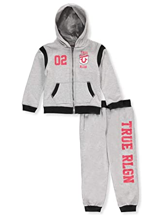 9395f595e Image Unavailable. Image not available for. Color: True Religion Buddha  Hoodie & Sweatpants Set Baby and Toddler Boy's ...