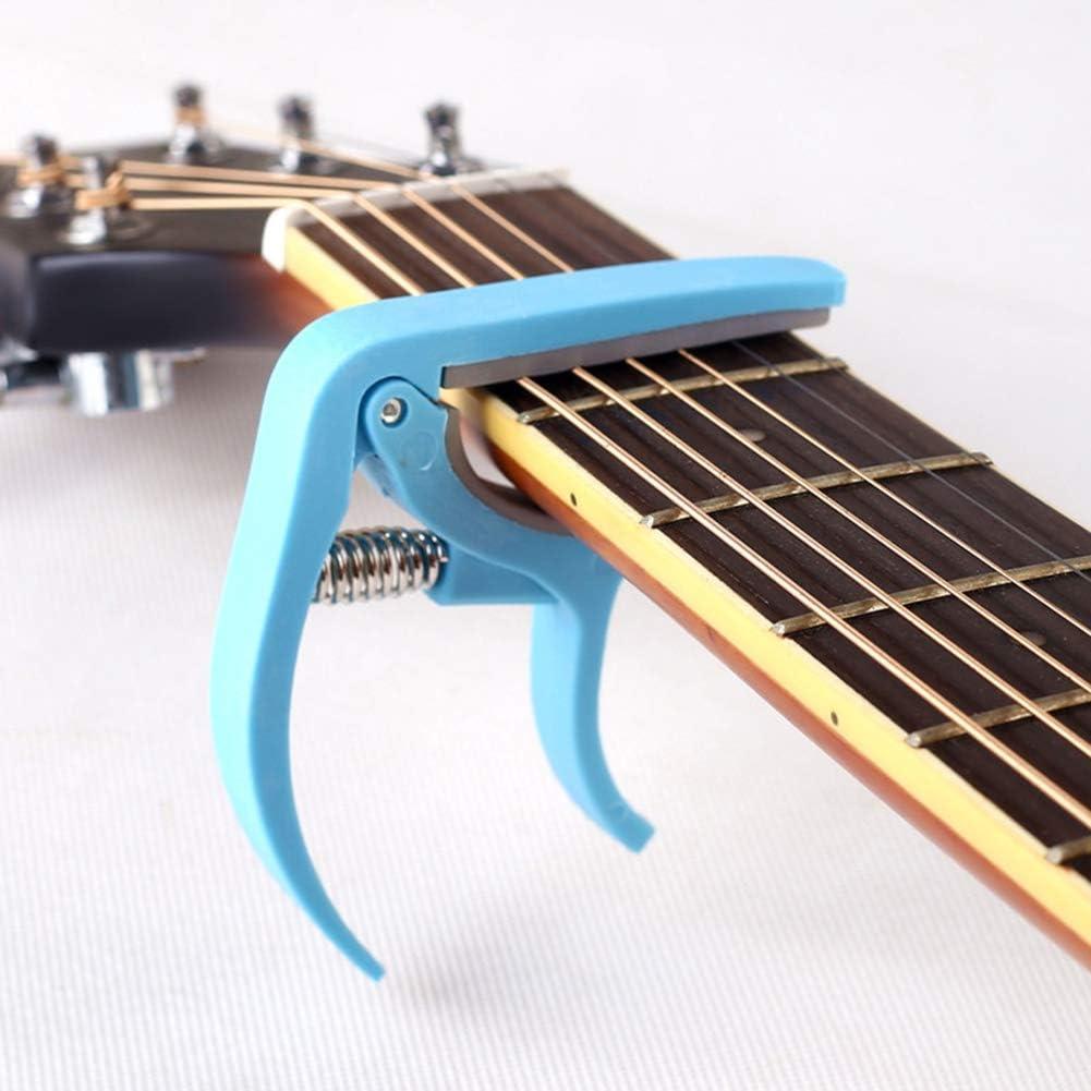 hefeibiaoduanjia - Abrazadera de afinación para Guitarra acústica ...