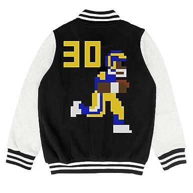 low priced 46d7d 8c1aa Amazon.com: 30 Todd Gurley Kids Varsity Coat Classic ...