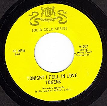 The tokens tonight i fell in love (