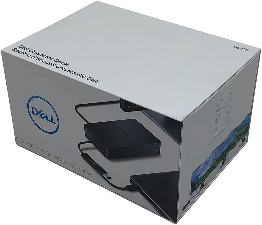 New Genuine Dell D6000 Universal USB Dock 452-BCYT (Renewed)