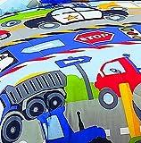 Dream Factory Trucks Tractors Cars Boys 5-Piece
