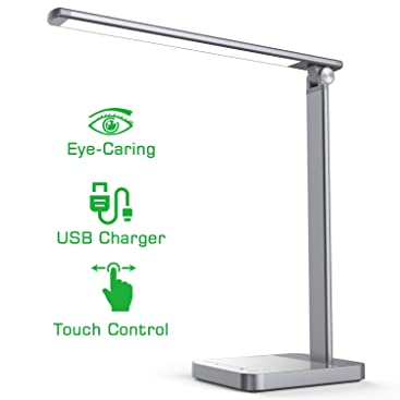 Led Desk Lamp Napatek Eye Caring Table Lamps Aluminum