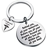FEELMEM Surgical Tech Keychain Future Surgical Technologist Gift Behind You All Your Memories Before You All Your Dreams…