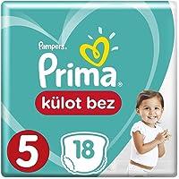 Prima Külot Bebek Bezi, 5 Beden, 18 Adet, Junior Tekli Paket