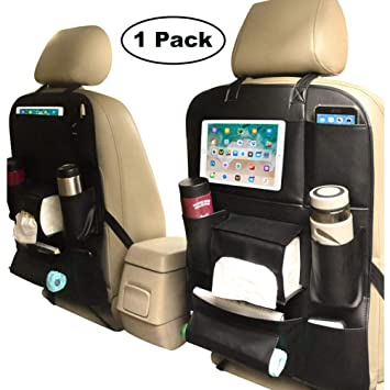 Backseat Car Organizer For Kids And Toddlers Back Seat With IPad Tablet Holder