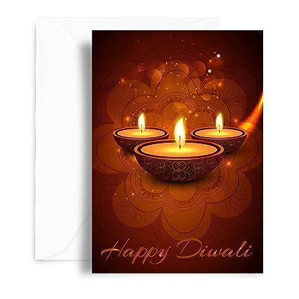 Kaarti happy diwali greeting card sk0563 amazon office products kaarti happy diwali greeting card sk0563 m4hsunfo