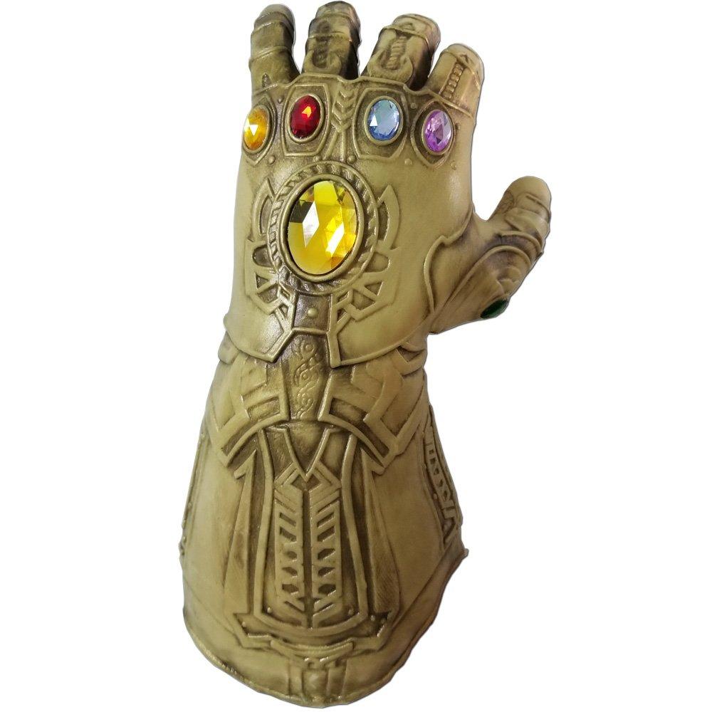 baellerry Infinity War Thanos Infinity Gauntlet Gloves Halloween Costume Thanos Glove Gold (Gold) by baellerry