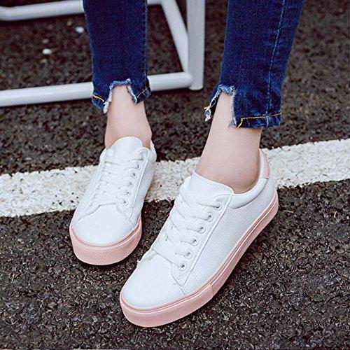 primavera Rosa Match Wuyulunbi Scarpe e bianche scarpe All autunno scarpe in in xSOX0PS