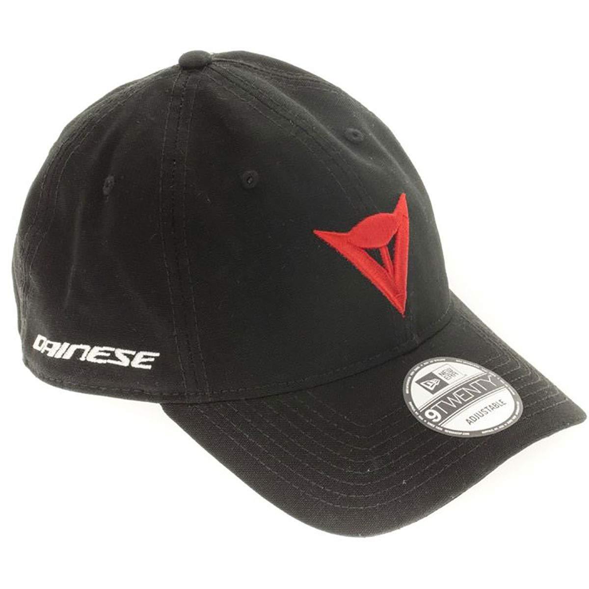 Dainese Unisex-Adult 9TWENTY Canvas Strapback Cap (Black One