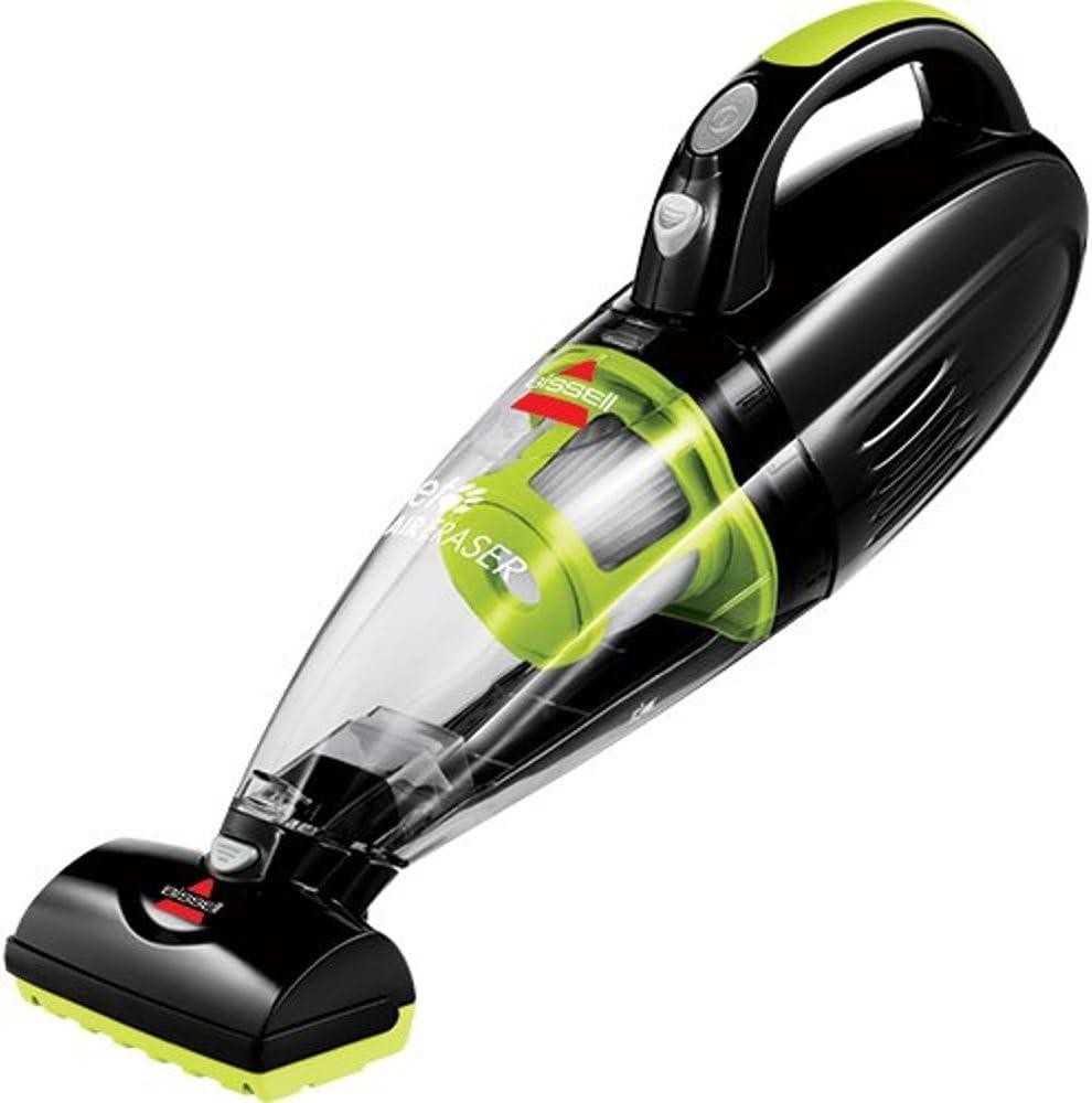 Bissell Pet Hair Eraser Aspirador de Mano para Pelo de Mascotas, 0 W, 68 Decibelios, Negro/Verde