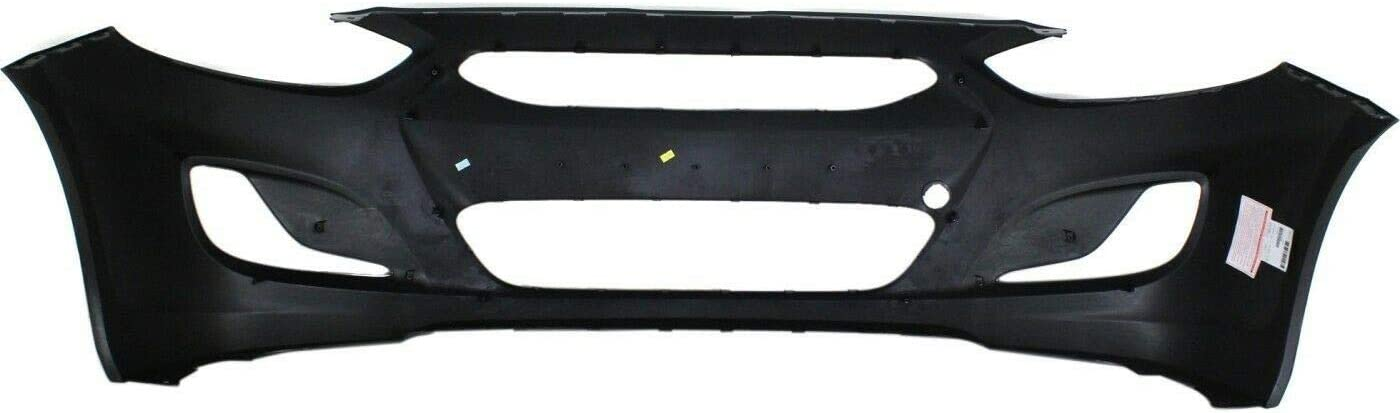 Exterior Accessories Primed Front Bumper Cover for 2012-2013 ...