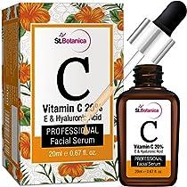 StBotanica Vitamin C 20 Vitamin E Hyaluronic Acid Facial