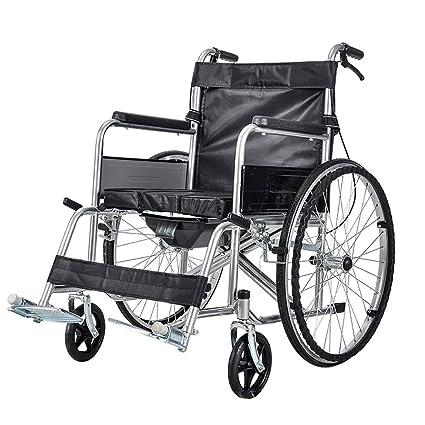 DPPAN Drive Medical Transport Silla de ruedas Plegable ligero, resistente Acero inoxidable duradero, con