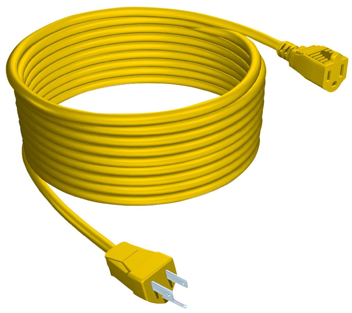 Stanley 33997 Outdoor Extension Cord, 100-Feet, Yellow