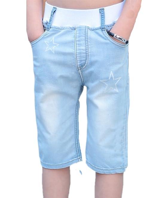 Pantalones Vaqueros de los niños Pantalones de Verano ...