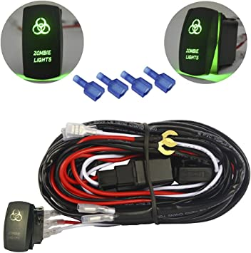 the wire harness green amazon com mictuning led light bar wiring harness 40amp relay on wire harness engineer jobs glassdoor mictuning led light bar wiring harness