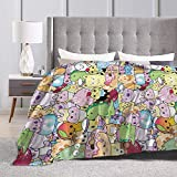 Mlgaril Moriah Elizabeth Blanket Cartoon Flannel