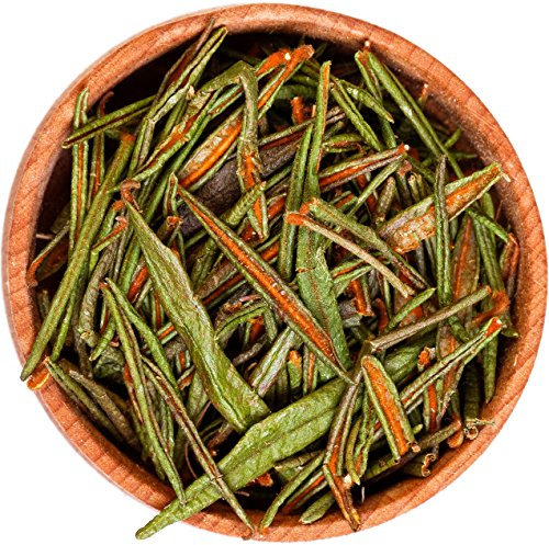 Raw Organic Wild Labrador Tea Leaves - 100% Natural Hand Harvested Canadian Forest, Healthy Immune System booster Vitamin Anti Inflamatory Cold Flu Expectorant Liver Cells Regenarator Insomnia Fighter