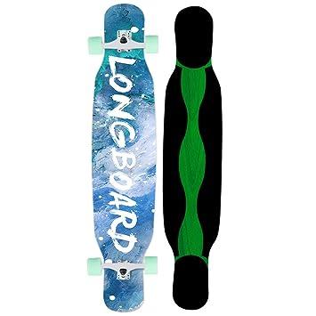 HYE-SPORT Skateboard 46 Pulgadas Adultos Bailando Longboard ...