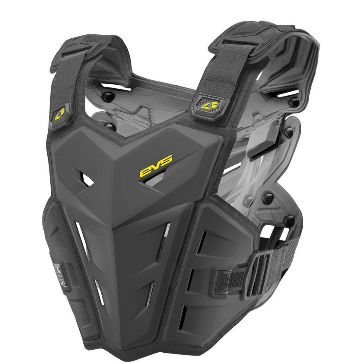 EVS F1 Adult Roost Guard MotoX/Off-Road/Dirt Bike Motorcycle Vest - Black/Small/Medium