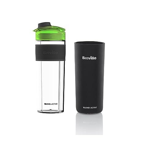 Breville VBL140 Blend Active Pro - Botella rellenable transparente de 0,5 litros de capacidad