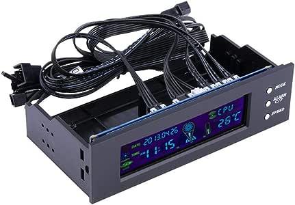 Controlador LCD Panel CPU Velocidad del ventilador Temperatura ...