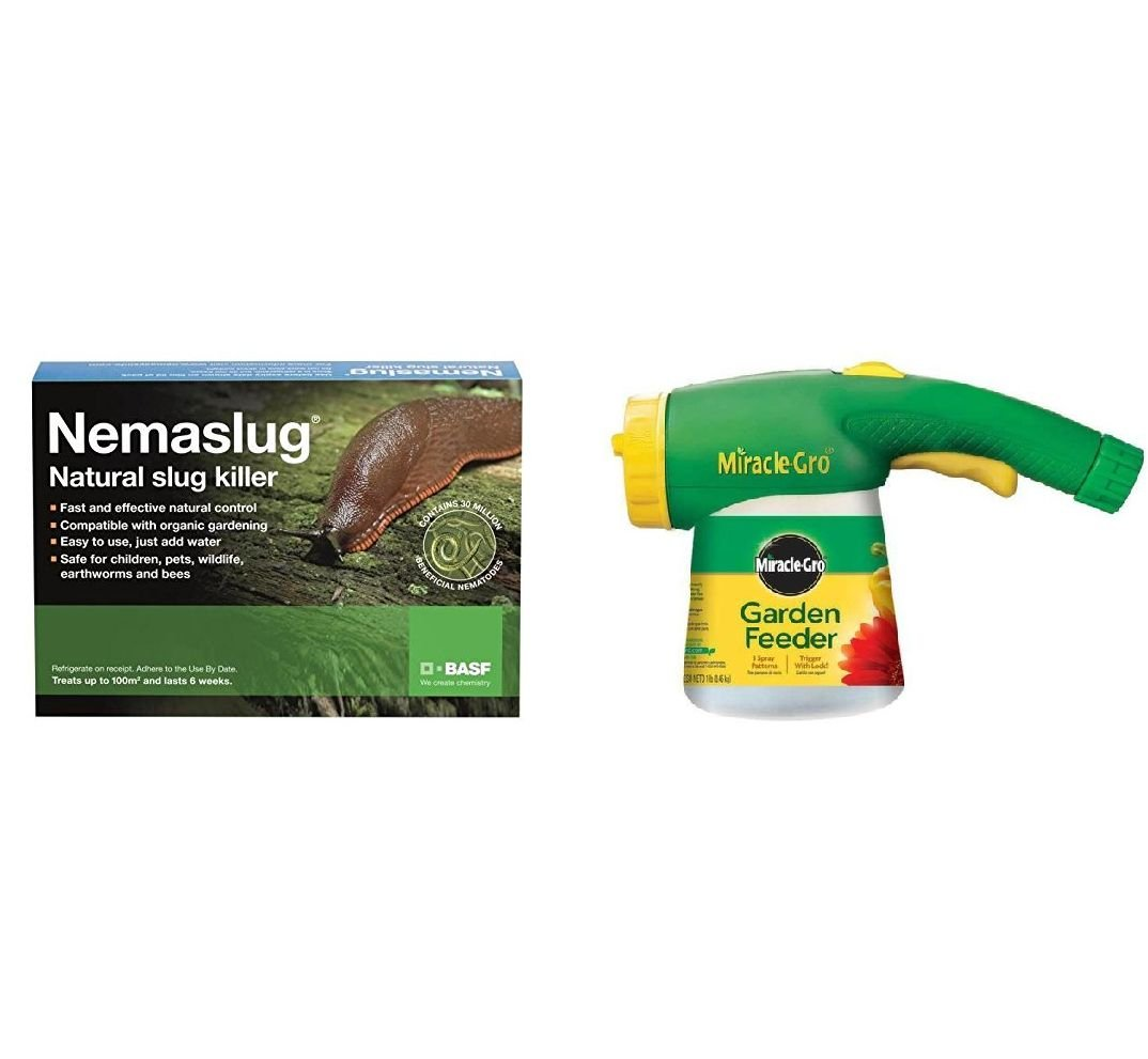 Gardening-Naturally Nemasys Slug Nematodes Killer with Applicator - Treats 100sqm with applicator