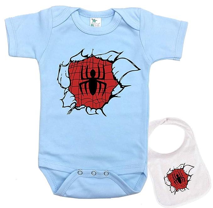 Amazon.com: Undercover Spider-Man - Conjunto de babero y ...