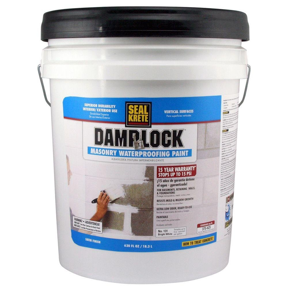 Reasons To Use The Water Sealant Paint For Basement Damplock Masonry Waterproofing Paint: Home Improvement