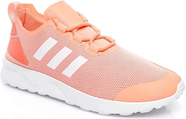 chaussure adidas zx flux femme rose