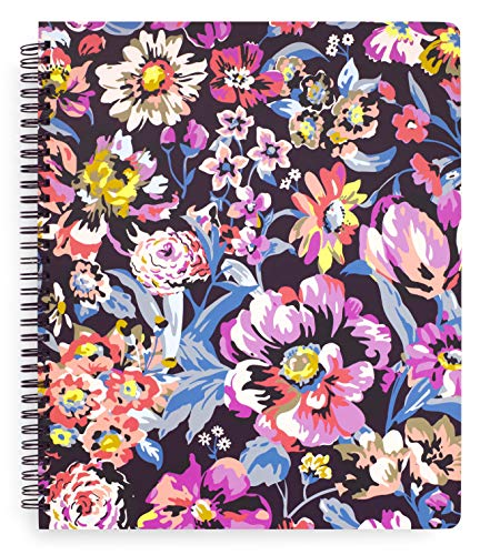 Vera Bradley Notebook With Pocket Indiana Rose One Size