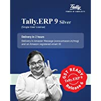 Tally ERP9 Silver GST Ready- Single User (Email Delivery in 2 hours- No CD)