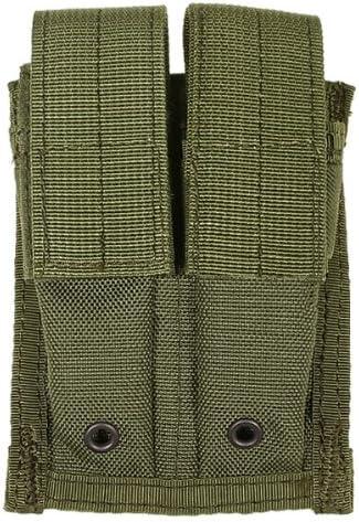Flyye Doble 9mm Cargador Bolsa MOLLE Ranger Green