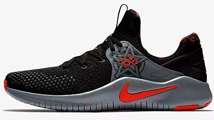 f1f6b02e04e0 Nike Men s Free TR 8 Oklahoma State Training Shoes (Black Grey Orange