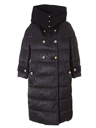finest selection 373ba 1f1fa Pinko Women's Tractionz99 Black Polyester Down Jacket ...