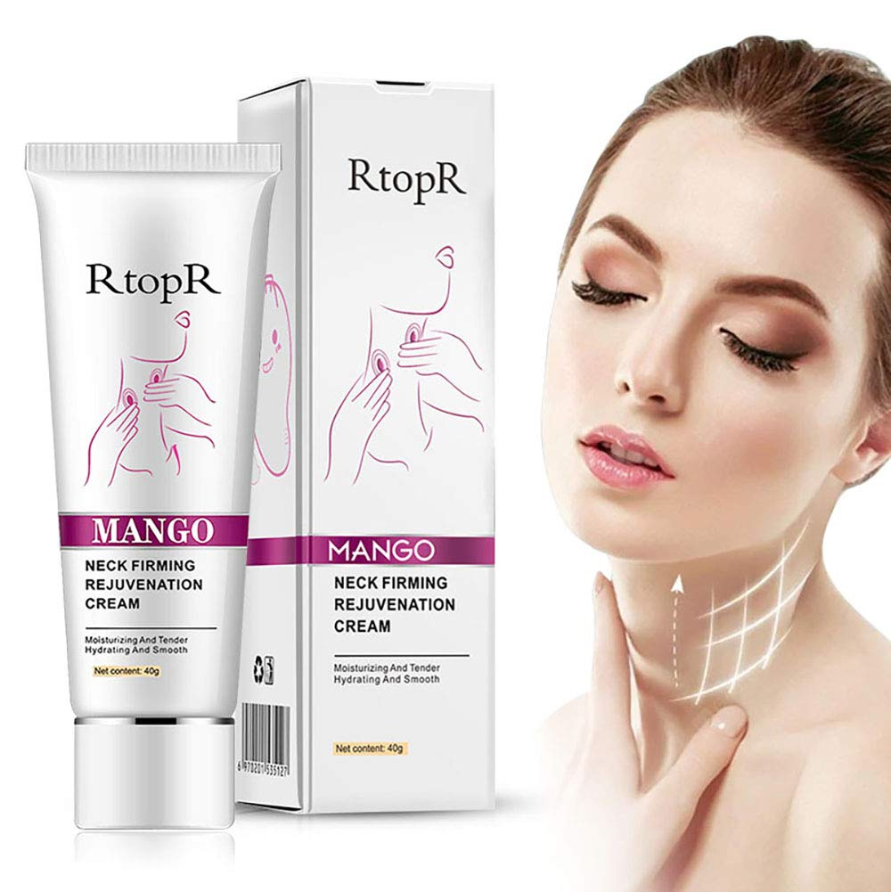 Neck Firming Cream, for Neck & Décolleté, Erase Crepe & Double Chin,Tightening Sagging Skin: Beauty