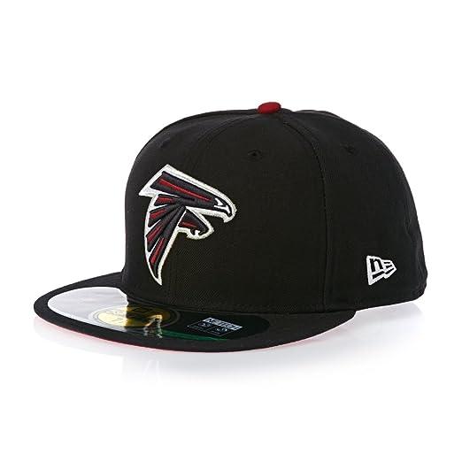 8a168706fd8db Amazon.com   NFL Mens Atlanta Falcons On Field 5950 Game Cap By New Era    Sports Fan Baseball Caps   Clothing