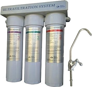 Purificador de agua debajo del fregadero-filtración: Amazon.es: Bricolaje y herramientas