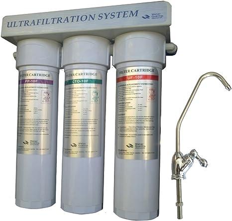 Purificador de agua debajo del fregadero-filtración: Amazon.es ...