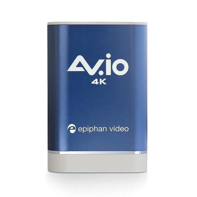 Epiphan Tarjeta de Captura de vídeo 4K AV.io: Amazon.es ...